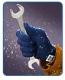 Перчатки для защиты от механических воздействий, устойчивые к низким температурам