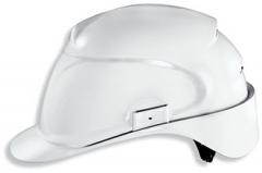 Каска защитная «Эйрвинг» с текстильным оголовьем (9762020) белая