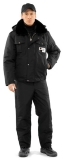 Куртка мужская утепленная «Секьюрити» (черная)