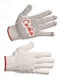 Трикотажные перчатки с точечным ПВХ-покрытием «Сити» (13 класс)
