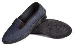 Туфли женские текстильные