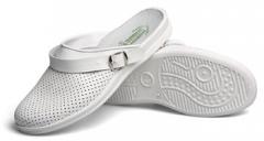 Туфли «Сабо» мужские (белые)