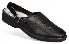 Туфли «Сабо» женские (черные)