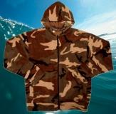 Куртка флисовая с капюшоном ФЛИС 2 (с манжетами)