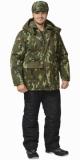 Куртка Арктика камуфляж лес длинная