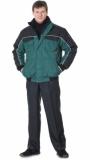 Куртка «АВТОМАСТЕР» зелёная с чёрным