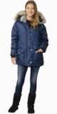 Куртка Аляска женская синяя