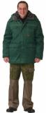 Куртка Профессионал длинная, зимняя зеленая