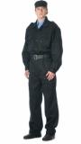 Костюм Омега: куртка, брюки (ткань смесовая) чёрный