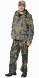 Костюм Волк летний: куртка, брюки камуфляж Темный лес