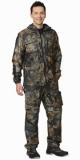 Костюм Рыболов: куртка, брюки камуфляж Серый лес