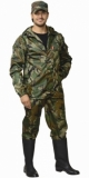 Костюм Турист: куртка, брюки камуфлированные зелёный