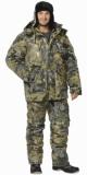Костюм Волк: куртка длинная, полукомбинезон камуфлированный Дубок