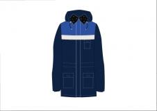 Куртка утепленная с мехом