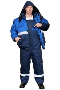 Костюм «Новатор»: куртка с застежкой-молнией и полукомбинезон