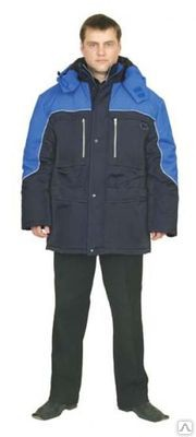 Куртка «Вега»: Куртка прямого силуэта с застёжкой на молнию