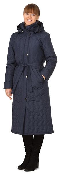 Пальто женское утепленное «Силуэт»