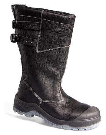 Сапоги кожаные меховые Неогард® (подошва – полиуретан и термпопластичный полиуретан)