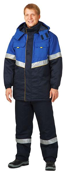 Куртка мужская утепленная «Тройка-Лидер»