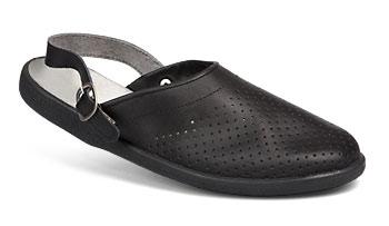 Туфли «Сабо» мужские (черные)