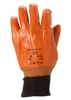 Перчатки «Винтер Манки Грип» с трикотажной манжетой (23-191)