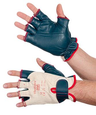 Перчатки «Вибрагард» с открытыми пальцами (7-111)
