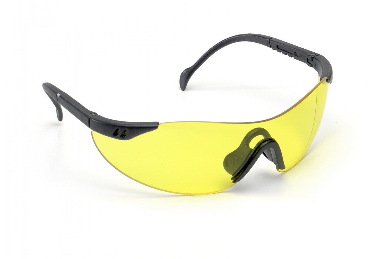 Очки 4000 UNICO PY blau (желтая линза)