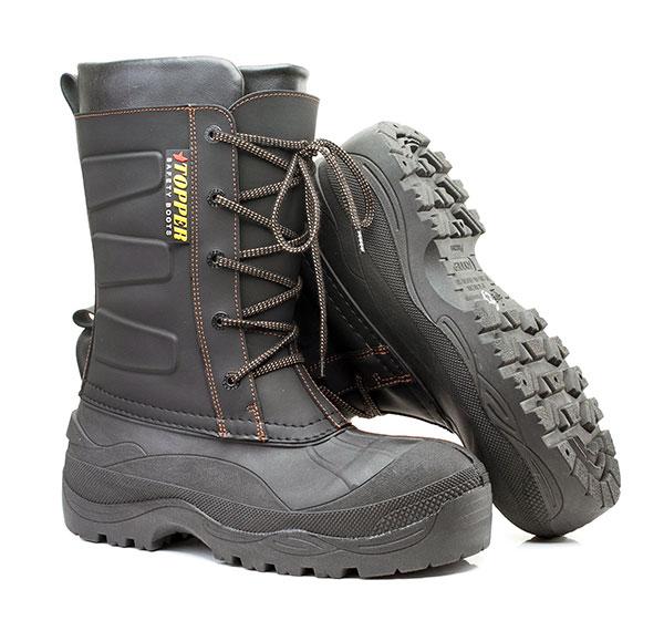 Обувь, комбинированная с  полимерным низом (МБС, К, Щ) «TOPPER» (антипрокольная  полимерно-текстильная  стелька 1200 Н, композитный  подносок 200 Дж) Тобол