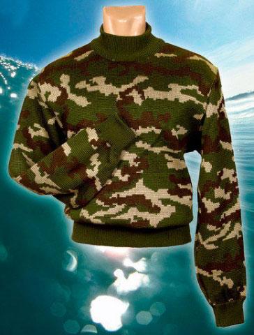 Камуфлированный свитер Лес