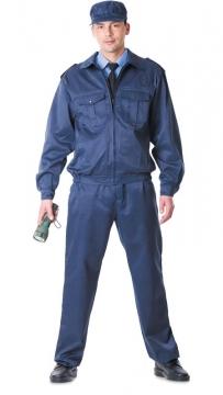Костюм Альфа: куртка, брюки синий