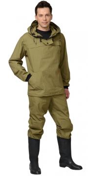 Костюм противоэнцефалитный Антигнус: куртка, брюки (полотно палаточное) хаки