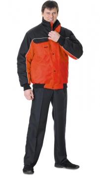 Куртка Автомастер красная с чёрным
