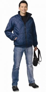 Куртка Прага мужская, темно-синяя