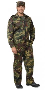 Костюм Вымпел: куртка, брюки камуфляж зелёный