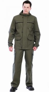 Костюм «ГЕО» летний: куртка, брюки ( п-но палаточное ) хаки