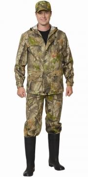 Костюм Егерь плюс: куртка, брюки камуфляж клён