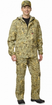 Костюм Егерь+: куртка, брюки камуфляж Тайга