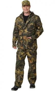 Костюм Следопыт: куртка. брюки камуфляж Мох
