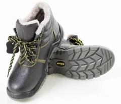 Ботинки «ПРОФИ-ЗИМА» на искусственном меху