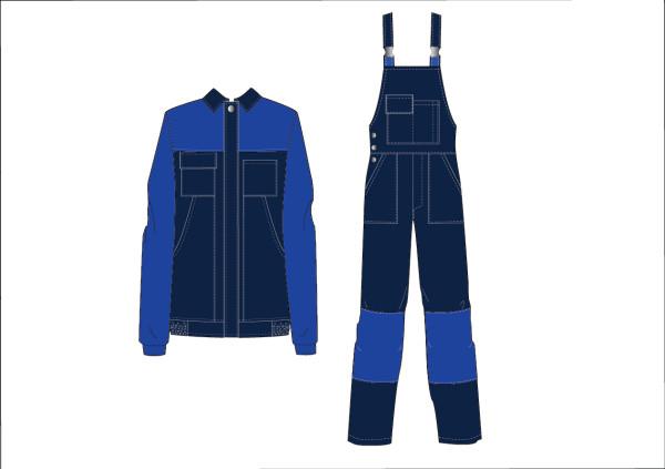 Костюм Грета (куртка и полукомбинезон)