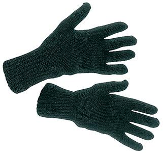 Перчатки полушерстяные двухслойные