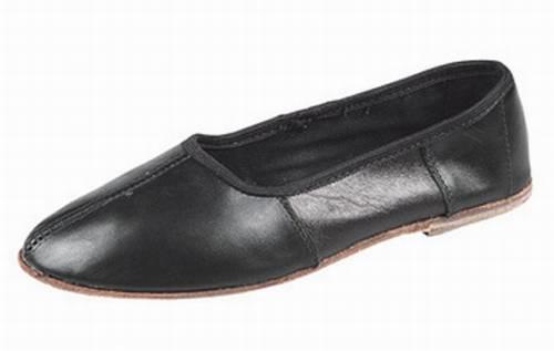 Тапочки-чувяки кожаные