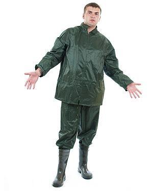 Влагозащитный костюм из нейлона с внутренним ПВХ покрытием