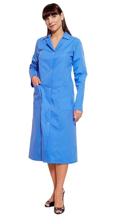 Медицинский халат Татьяна голубой