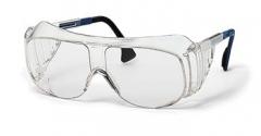 Очки «Визитор» (9161005): открытые очки с боковой защитой и надбровным козырьком