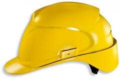 Каска защитная «Эйрвинг» с текстильным оголовьем (9762120) желтая