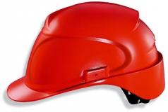 Каска защитная «Эйрвинг» с текстильным оголовьем (9762320) красная