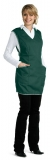 Фартук-сарафан женский (темно-зеленый)