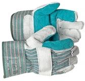 Перчатки спилковые комбинированные усиленные «Супер В»