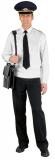 Куртка-сорочка белая, длинный рукав